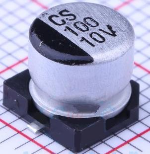 先科贴片电解电容100uF 10V 6.3*5.4型号详情